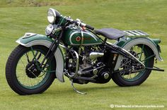 1936 Harley-Davidson Model R Flathead