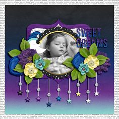 Layout by Mary Ashbaugh using Starlight, Star Bright by Traci Reed http://www.sweetshoppedesigns.com/sweetshoppe/product.php?productid=30815&cat=749&page=1 The Tuesday Template: Week 57 by Megan Turnidge