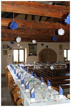 Small blue wedding ceremony #7
