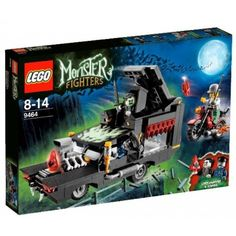 monster lego sets | LEGO Lego Monster Fighters 9464: The Vampyre Hearse Set 9464
