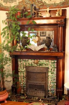 Fireplace Summer Covers