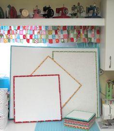 Bee In My Bonnet: Scrappy Happy Summer Sew Along - My Design Boards Tutorial! ...