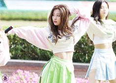 Red Velvet Photoshoot, Red Velvet Seulgi, Gym Shorts Womens, Two Piece Skirt Set, Crop Tops, Photo And Video, Model, Dresses, Motivation