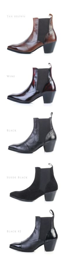 Genuine Leather Hand Made Ankle boots