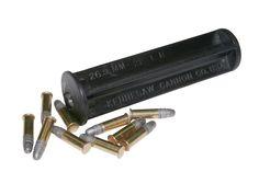 Insert for twelve gauge flare gun so you can shoot 22 cal.