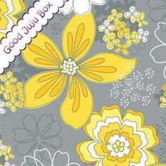 camelot fabrics | Gray Matters More - Blumen - Camelot Fabrics