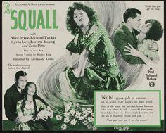 The Squall (1929) Stars: Richard Tucker, Alice Joyce, Loretta Young, Myrna Loy…