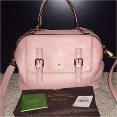 Kate Spade Raquelle Allen Street Cipria Light pink. Gold zippers. Inside pocket that zips. Comes with dust bag. Used only a few times. Love this bag! Shoulder bag/crossbody bag. Crossbody strap is detachable. kate spade Bags Totes