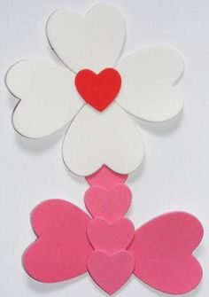 Make this loveworm bookmark craft for kids for Valentine's Day - he's cute, quick and fun! Valentine's Day Crafts For Kids, Valentine Crafts For Kids, Little Valentine, Valentines Day Activities, Mothers Day Crafts, Valentines Day Party, Valentines Day Coloring, Flower Crafts, Preschool Crafts