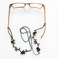 """Nallıhan is a town of Ankara, the capital of Turkey. This area is famous with the handicraft """"silk needle lace"""" made by ladies. Glass Jewelry, Unique Jewelry, Eyeglass Holder, Needle Lace, Lace Making, Crochet Accessories, Handicraft, Etsy Store, Eyeglasses"""