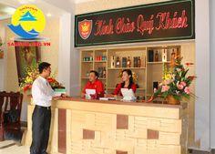 Lễ tân tại khách sạn King Sầm Sơn