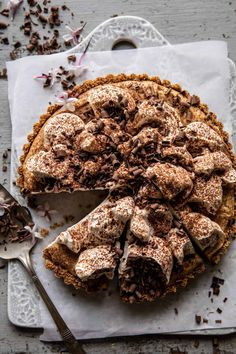 Our 2021 Mother's Day Menu and Entertaining Tips. Peanut Butter Recipes, Chocolate Peanut Butter, Chocolate Recipes, Just Desserts, Delicious Desserts, Dessert Recipes, Pie Recipes, Recipies, Half Baked Harvest