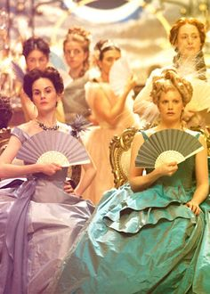 If you're going for an Imperial Russia theme, why not give your bridesmaids matching fans - silk ones could make wonderful and unusual bridesmaids gifts. Anna Karenina (2012)