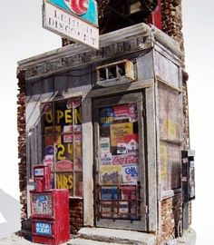 Miniatures, Corner Store | Don Railton Modeling
