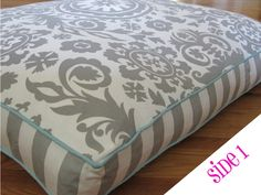 Medium Reversible Dog Bed Cover  Suzani and Damask by Flipcovers, $55.00