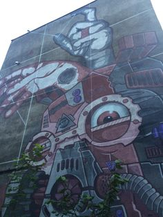 Foxy & Wiur Inwazja cd  #streetart #contemporaryart #trafficdesignfest #Gdynia