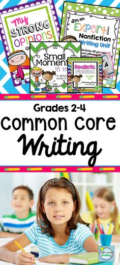 Writing Bundle targeting common core standards that will get your students to LOVE writing * Grades 2-4