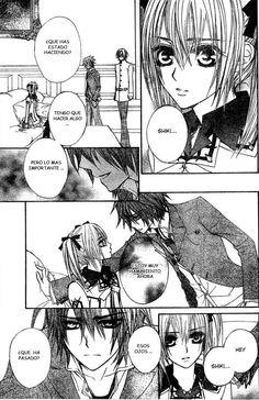 Vampire Knight,a scene with:Rima and,Shiki