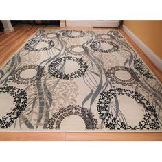 Winston Porter Kinser One-of-a-Kind Wool Ivory Area Rug Size: Runner x Modern Area Rugs, Large Area Rugs, Blue Area Rugs, Black Rug, White Rug, Tan Rug, Clearance Rugs, 8x10 Area Rugs, Area Rug Sizes