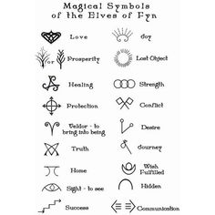 nice Tiny Tattoo Idea - runic sigils - Поиск в Google | Tattoos | Pinterest | Magic Symbols, Symbols and Elf