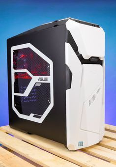 If you've got the space for a full-tower gaming rig, the Asus Republic of Gamers Strix GD30CI delivers the goods, the upgradability, and even a customizable chassis.
