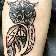"""42 Tatuajes increíbles de """"Harry Potter"""" que solo los muggles odiarían"""
