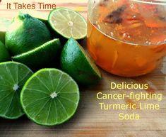 Turmeric Lime Soda   It Takes Time