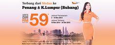 MURAH...Naik Firefly dari Medan ke Penang & Kuala Lumpur cuma RM59.00. Ayo, buruan Cek destinasi favorit kamu sekarang disini: http://blog.airpaz.com/id/promo-firefly-3-16-november-2014/ #tiketpesawat #firefly #airpaz #promo #cheapflights