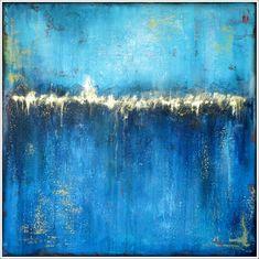 STELLA HETTNER* Bild ORIGINAL Kunst GEMÄLDE modern MALEREI abstrakt L Acryl NEU abstract painting