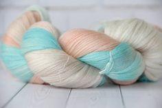 hand dyed yarn  cashmere/merino/ silk560 от PositiveCreative