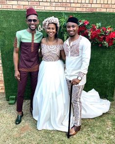 shweshwe dresses trends of 2019 - Reny styles African Traditional Wedding Dress, Traditional African Clothing, Traditional Wedding Attire, Wedding Dresses South Africa, African Wedding Attire, African Print Fashion, African Fashion Dresses, African Wear, African Dress