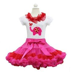 LITTLE LOVE ELEPHANT PETTISET  Price: $44.99, Free Shipping Options: 1/2T, 3/4T, 5/7 click to purchase