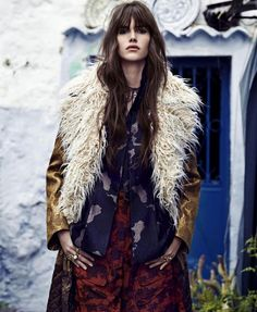 Vanessa Moody in Dries Van Noten by Nathaniel Goldberg for Harper's Bazaar August 2015 Look Fashion, High Fashion, Fashion Models, Fashion Show, Fashion Tips, Fashion Trends, Queer Fashion, Fashion Skirts, Fashion Black