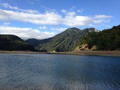 Laguna Verde, parque nacional Conguillio, Chile