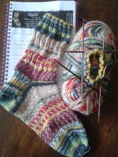 Opal sokkenwol Hundertwassers Werk