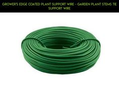 Grower's Edge Coated Plant Support Wire - garden plant stems tie support wire #fpv #shopping #kit #parts #tech #products #camera #gadgets #gardening #drone #racing #plans #wire #technology