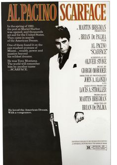 Scarface (1983), Book: Film Posters of the 1980s - Tony Nourmand and Graham Marsh, Published by Taschen