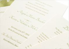 Invitation tutorial. Using burlap cloth for decorative layer instead of this print but rest is a go!