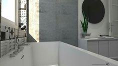 Bagno: Ristrutturazione Abitazione privata. Studio di Architettura Alessandra Caria.  www.acarchitettura.wordpress.com