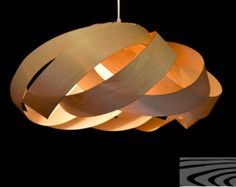 Beautiful NEST light, a beautiful pendant lamp for dining room and bedroom-pendant light- modern style-natural wood lamp- hanging lamp-home