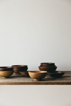 Hand-turned bowl made in London from beautiful reclaimed Walnut.