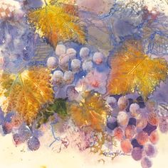 Karlyn Holman's grapes.  Click on image to view her other great works!