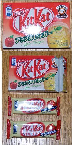Apple Vinegar flavour Kit-Kat - Japan