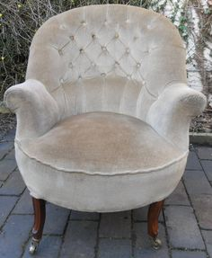 See the website click the link for more information --- oversized armchair Tub Chair, Nursing, Accent Chairs, Armchair, Room Ideas, Victorian, Living Room, Website, Antiques