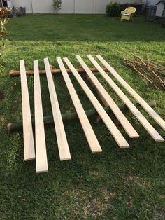 A homeowner lays 2x4s from Home Depot in her yard. A few days later? This kitchen idea is incredible!