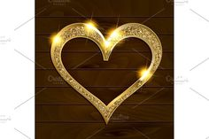 Valentine's day heart by nastyaaroma on @creativemarket