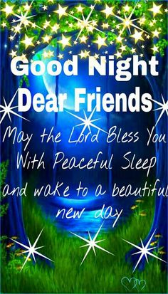 God Bless You All, Good Night!