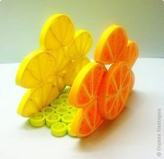 Quilling Paper napkins holder by catrulz  -  looks good enough to eat!
