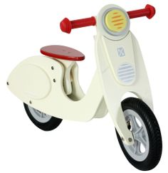Hip Kids Vespa Scooter | Wooden Balance Bike | Childrens 10 inch Vespa Scooter