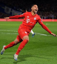 Serge Gnabry scores 2 goals against Chelsea - UEFA Champions League⚽ Munich, Messi, Serge Gnabry, Don Juan, Uefa Champions League, Trainer, Football Soccer, Chelsea, English